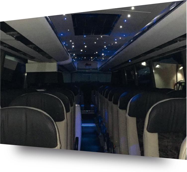 Autocares y microbuses de lujo